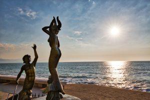 Puerto Vallarta's Iconic Malecon Boardwalk Sculptures